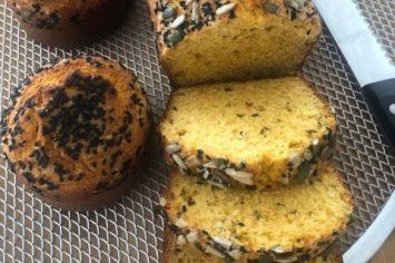לחם תירס עשיר וטעים ממש כמו עוגה