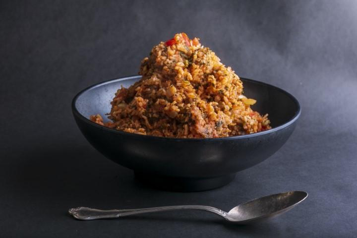 אורז אדום. צילום: תמרה אהרוני