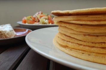 מילה חדשה וטעימה: טרטצ'אפטי - לחם שטוח במיוחד לחג!