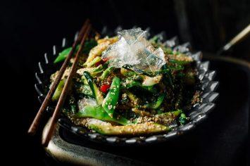 ירקות ירוקים אסייתיים בכמה דקות!
