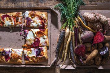 אין טעים כזה: פיצה ירקות שורש משגעת!