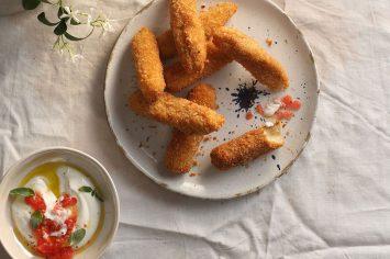 פינגר פוד לשבועות - אצבעות גבינה קריספיות