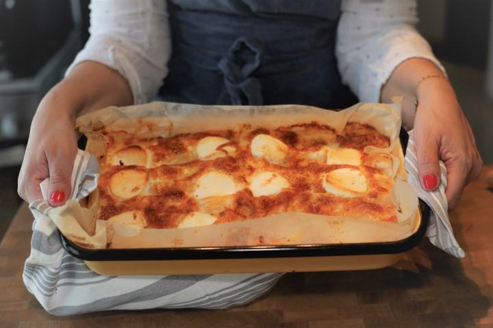 קנלוני גבינות ובטטה נעמה צילום: גלית יערי