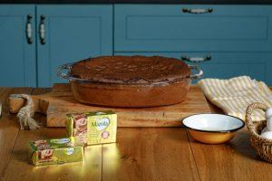 אופים את העוגה כ-40 דקות. צילום: שניר גואטה