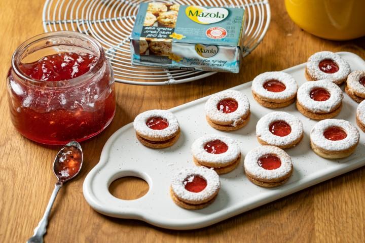 עוגיות סנדוויץ' ריבה. צילום: שניר גואטה
