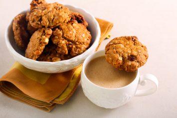 5 דקות הכנה ויש לכם עוגיות גרנולה עם חמוציות – הכי הכי מתוקיות!