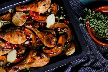 אהרוני וארוחת השבת- שוקי עוף בתנור עם דלורית צלויה