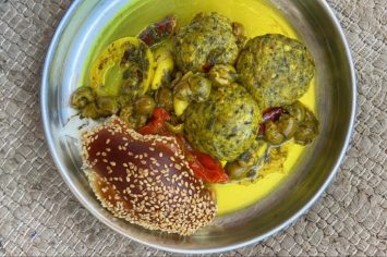 כשמרוקו וישראל נפגשות: קציצות ברמונדי ישראלי וזיתים סורים מבושלים