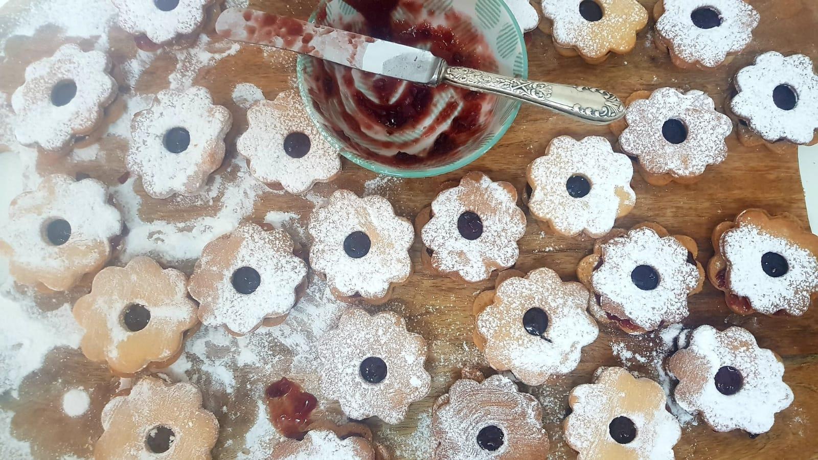 עוגיות ריבה. צילום: סיגל דרעי כשר