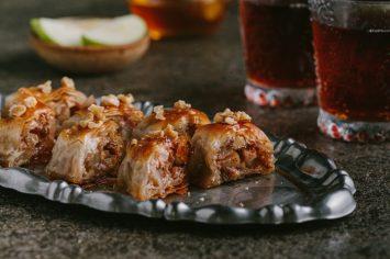 הבקלאווה של רון יוחננוב – בקלאווה עם תפוחים ודבש