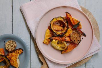 תוספת חגיגית ברגע: ירקות כתומים מקורמלים