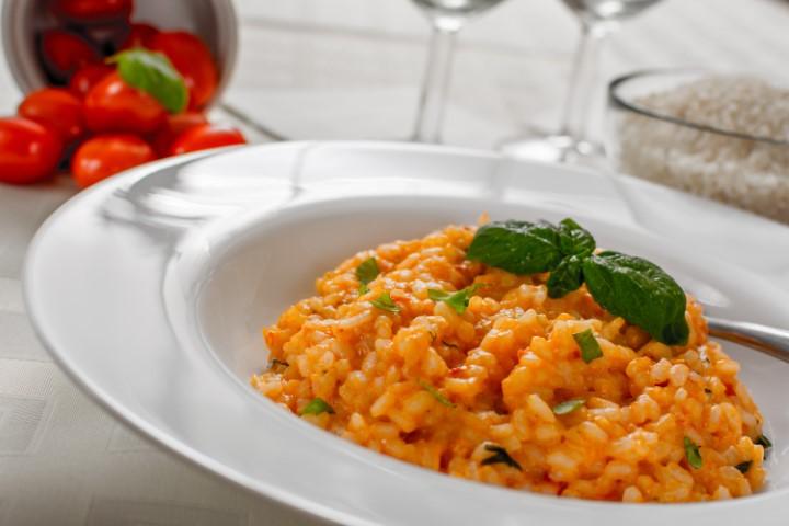 ריזוטו עגבניות אהרוני