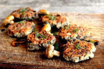 כלכך טעים! לביבות אפויות מלאות בפטריות