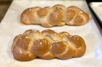 מלכת השבת: חלה מתוקה מקמח כוסמין מלא