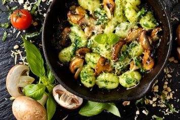 ניוקי פסטו פטריות: 5 מצרכים לארוחה שלמה