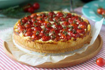 סאמר פאי: פאי גבינות ועגבניות שרי קייצי