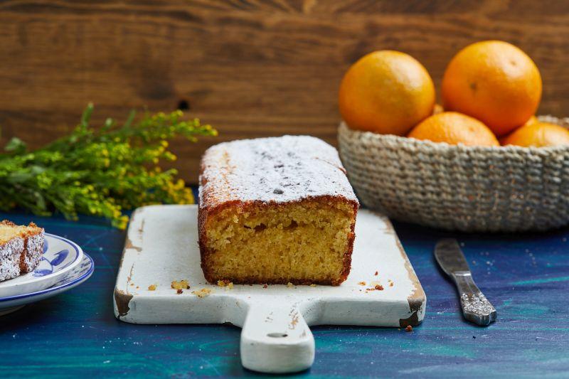 עוגת תפוזים בחושה בלובנד. צילום: שניר גואטה