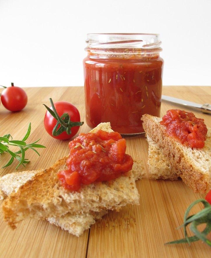 ריבת עגבניות שרי ורוזמרין