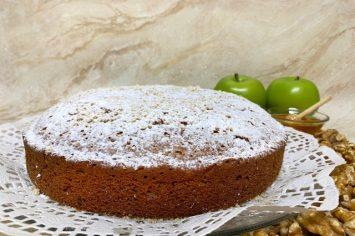 עוגת דבש ותפוחים של סבתא