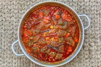 אמאאאא!!! תבשיל בשר מרוקאי מטורף!