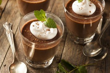 פודינג שוקולד בטעם של פעם