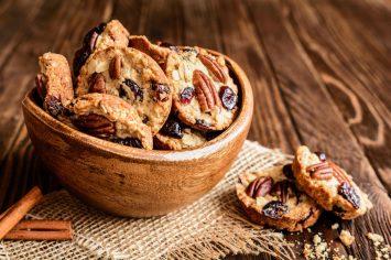 עוגיות שיבולת שועל ודבש ב-10 דקות - לא רק לראש השנה