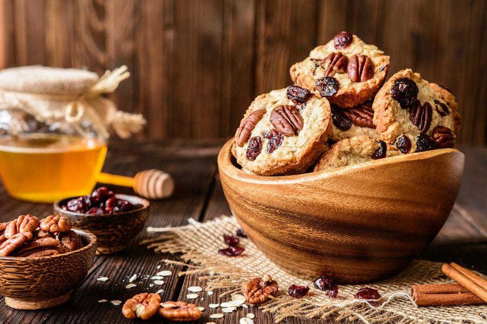 עוגיות שיבול שועל ודבש