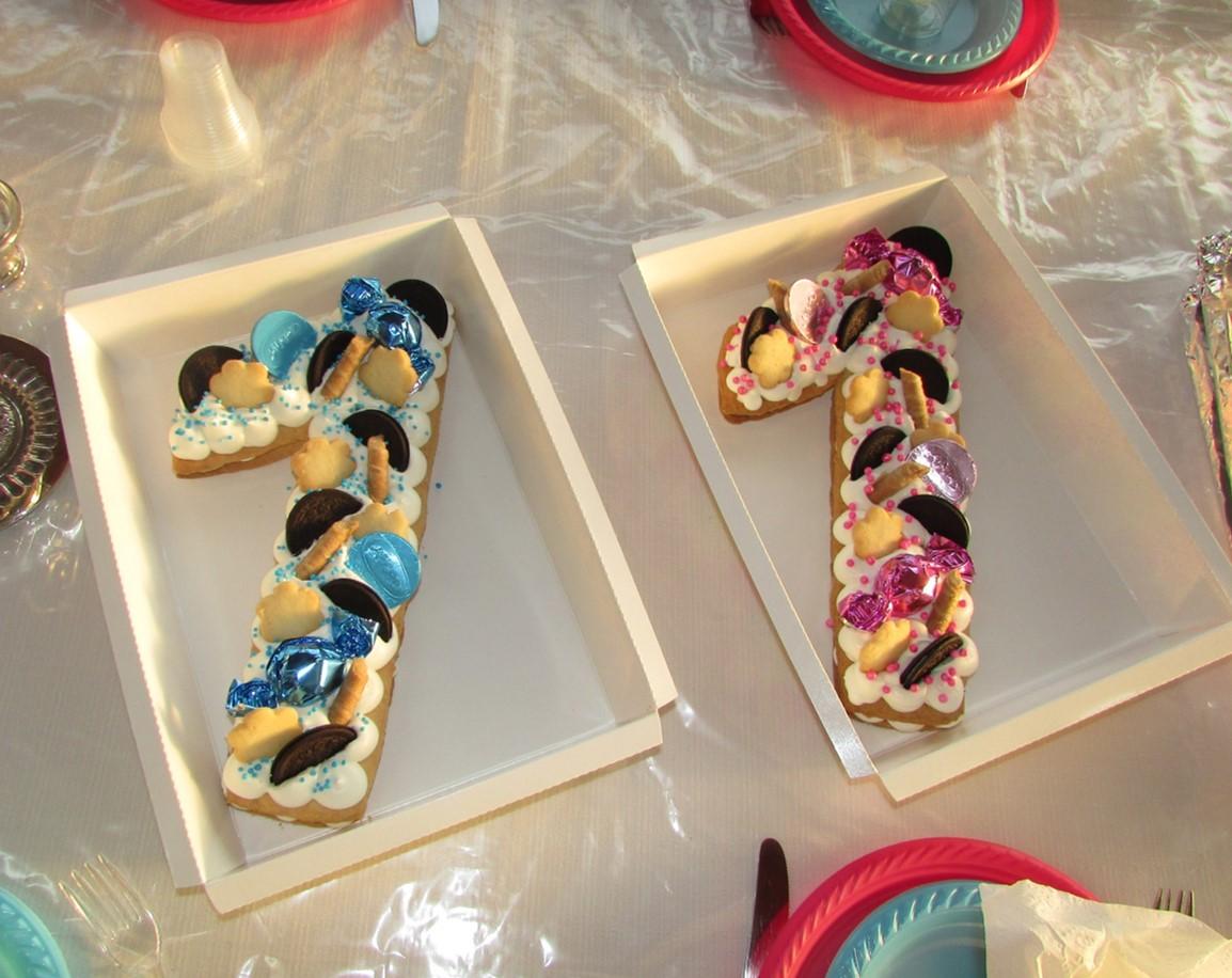 עוגות יום הולדת לאחיינים שלי הנסיכים התאומים בני שנה! עוגה מושלמת לחגוג את זה! הפכתי לפרווה וייצא מושלם!!!!