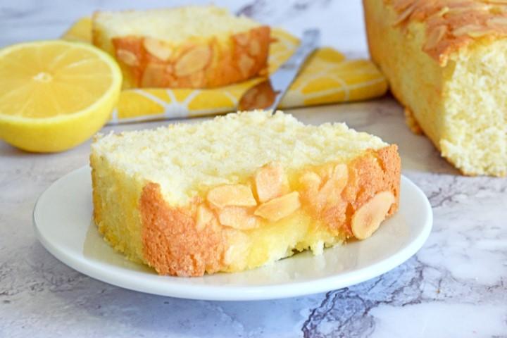 עוגת לימון ושקדים. צילום: ספיר דהן