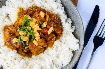 תבשיל אורז עם בשר בדבש של יונית צוקרמן
