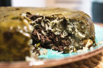 הנינג'ה של עלי הגפן - עוגת עלי גפן של תמרה אהרוני