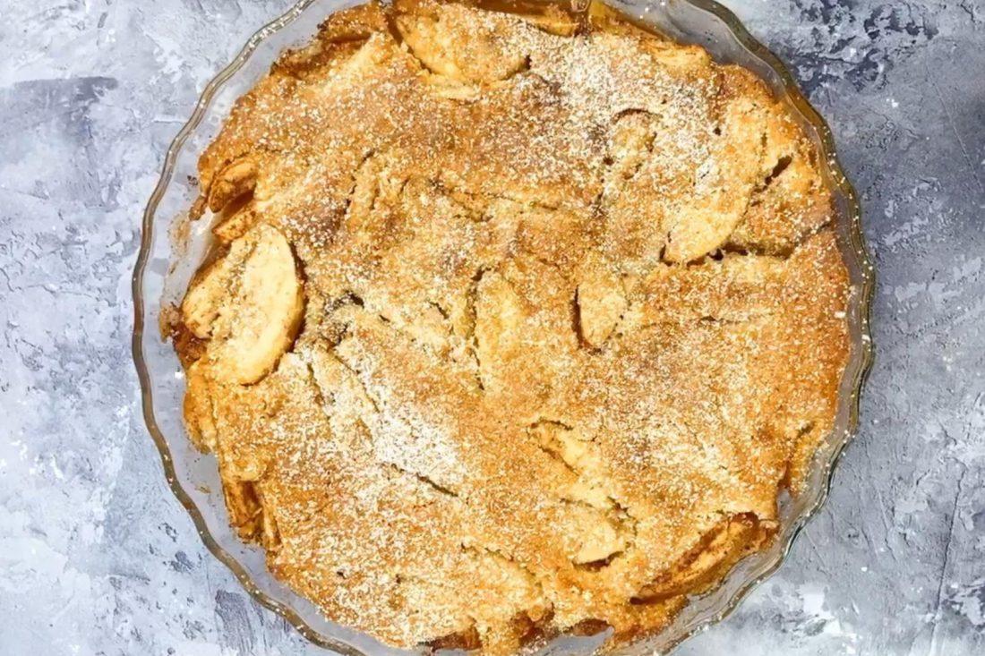 עוגת תפוחים. צילום: מעין טרודל