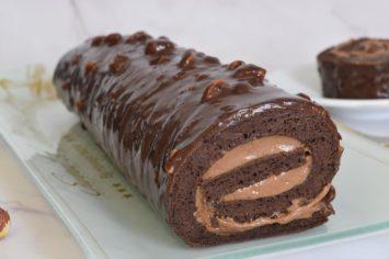 גם בעוד מליון שנה זה יבוא לנו בטוב: רולדת שוקולד ואגוזי לוז