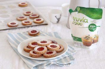 עוגיות פרח ריבה מופחתות סוכר של נטלי לוין