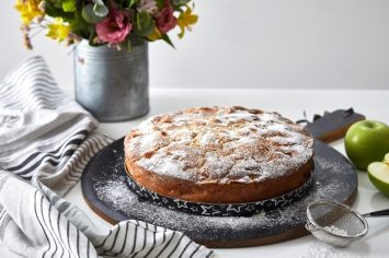 שאנז אליזה זה כאן: עוגת תפוחים צרפתית