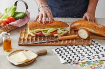 שדרוגיישן: באגט גבינה צהובה משודרג