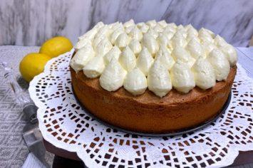לימונית וגבוהה: עוגת טורט של אמא