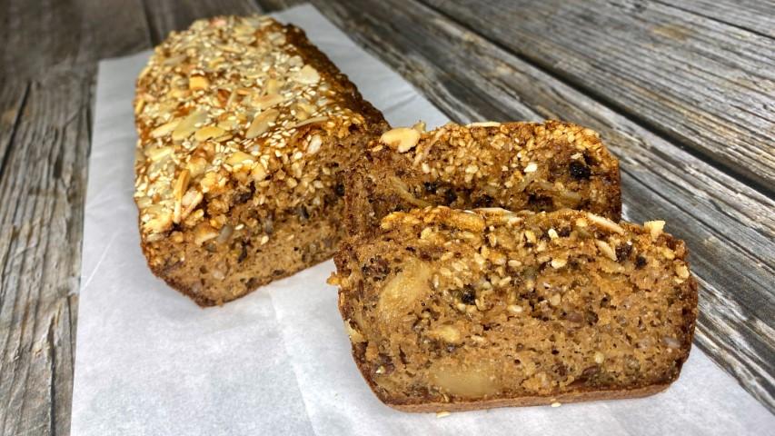לחם טחינה מושלם. צילום: עדן טל