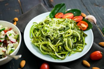 פסטה זוקיני: פסטה לדיאטה של יום ראשון