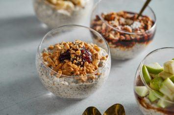 דייסת שיבולת שועל בין לילה (overnight oats)