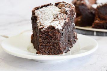 עוגת סופלה שוקולד בפחות מחצי שעה! וזהו!