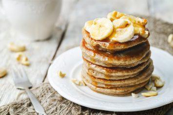 פנקייק בננה: מתכון ב- 10 דקות הכנה