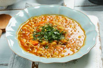 מרק חרירה – מרק מרוקאי חם ליום קר
