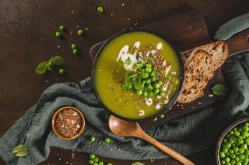 מרק אפונה מזין ב-5 דקות!