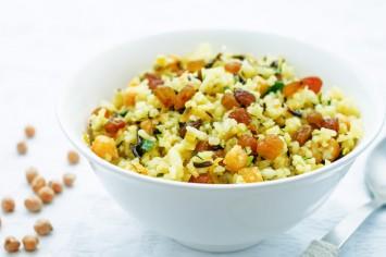 תנו בשידרוגים: אורז עם חומוס ותבלינים משגע