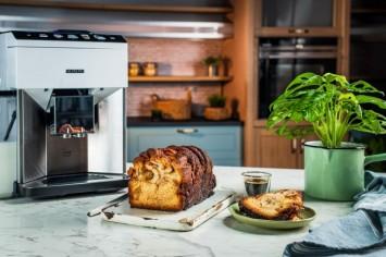 עוגת שמרים קינמון וסירופ קפה