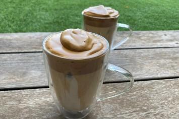 קפה קוראיני מוקצף: להרגיש בבית קפה בבית!