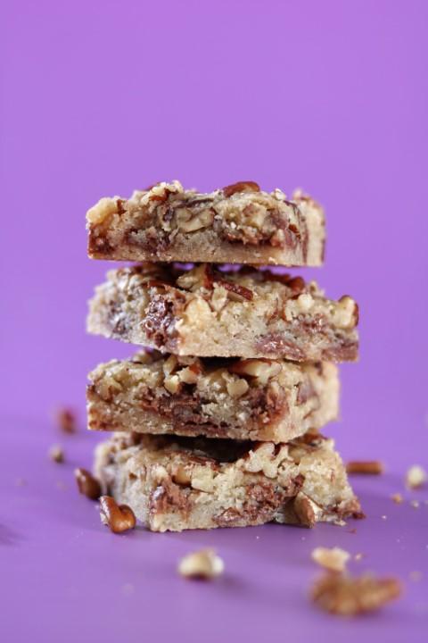 השילוב המושלם של אגוזים ושוקולד. צילום: אייל רווח