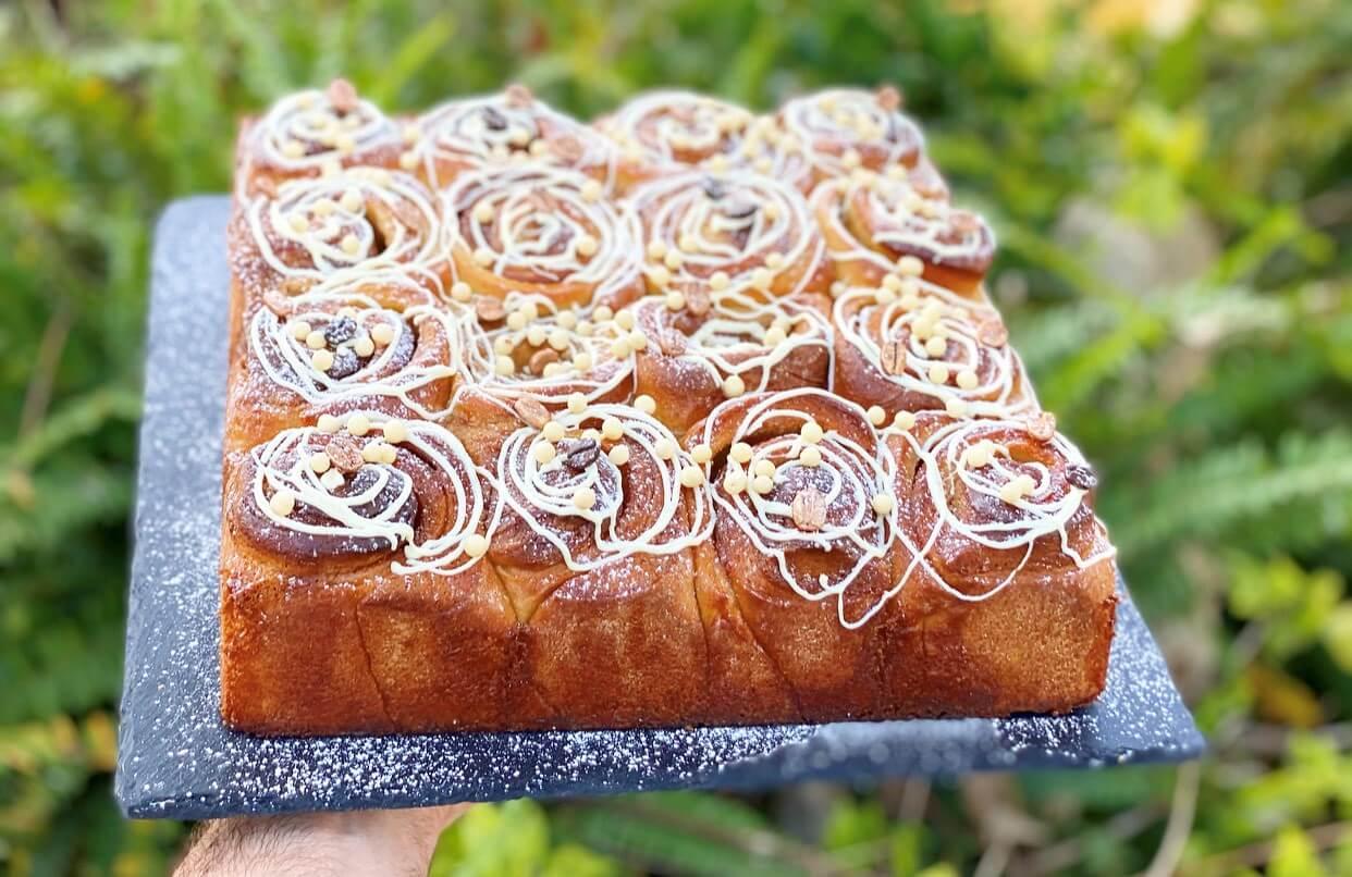 עוגת שמרים צילום: תומר אומנסקי
