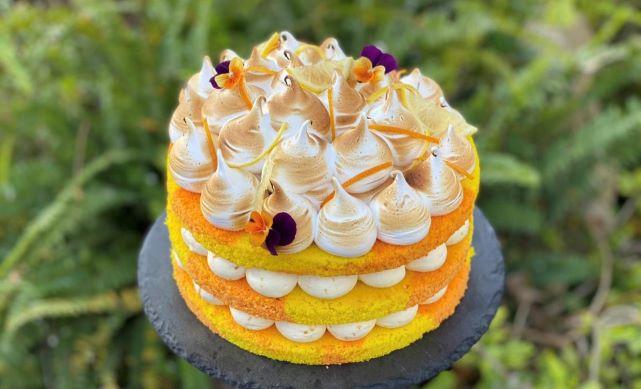 עוגת הדרים תפוזים ולימון